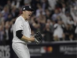 MLB》田中7局無失分 洋基3連勝聽牌