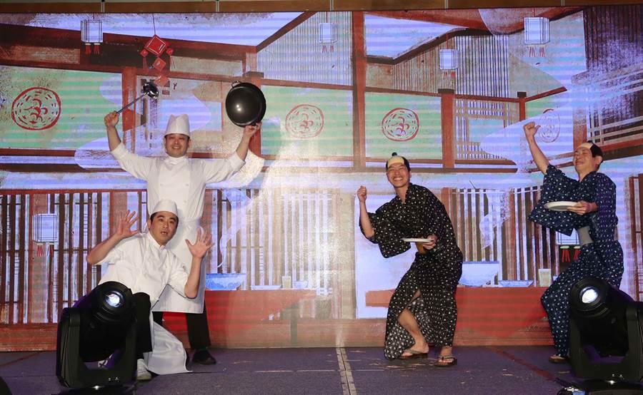 第4屆「亞洲超級團隊:勇闖夢想國度」19日舉行總決賽,由日本BUN Corporation奪下總冠軍。(貿協提供)