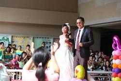 台南啟智學校學子婚紗走秀 展現自然美