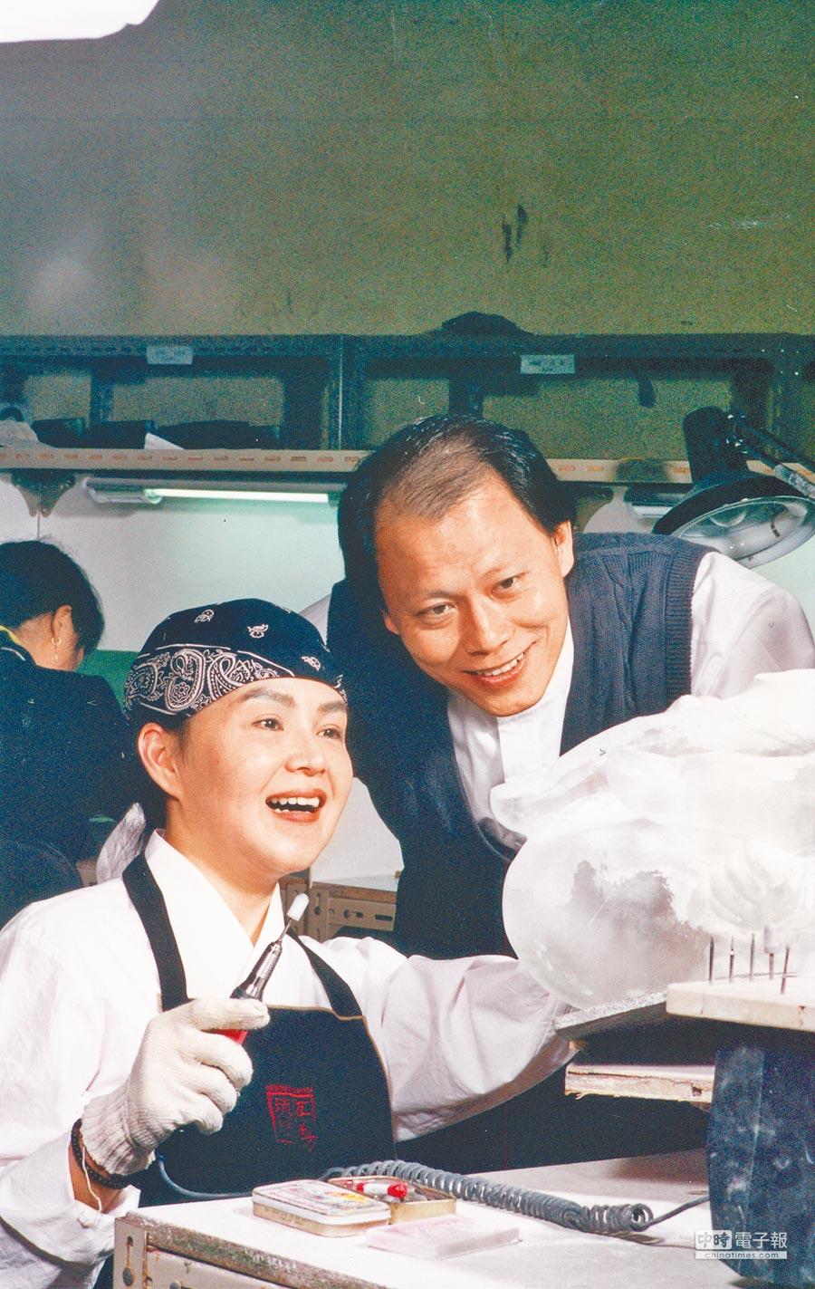 楊惠姍、張毅攜手30年,共同打造琉璃奇蹟。(本報資料照片)