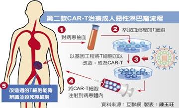血癌救星!美批准第2款CAR-T療法