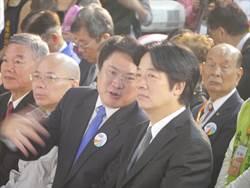 產博會 基市長被叫成林宥嘉又被賴揆戲稱「乩童市長」