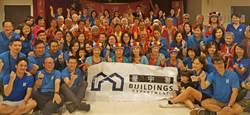 香港屋宇署義工隊跨國來台與獨老互動