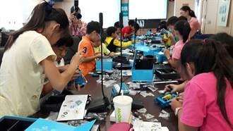創客教育向下紮根 中市辦mBot機器人國小體驗營隊