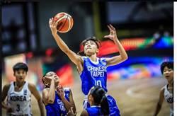 亞青女籃》第3節崩盤 U16中華隊首戰抗韓失利