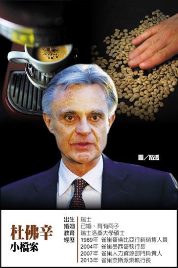 Nespresso執行長杜佛辛 親赴咖啡園助產高質豆