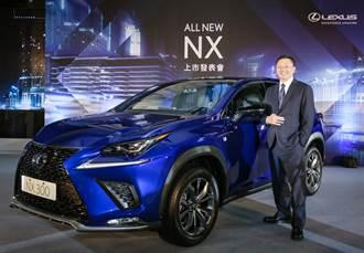全新改款 LEXUS NX 安全智極