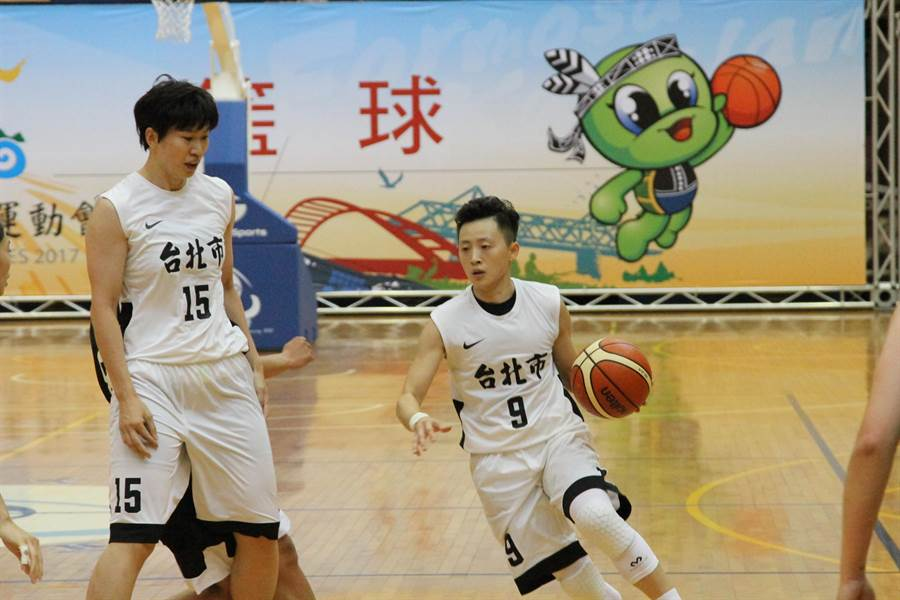 劉君儀與台元老戰友彭詩晴再合作。(林宋以情攝)