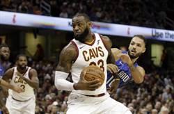 NBA》騎士緊急變陣 詹姆斯改打控球後衛