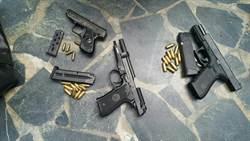 大陸制式黑星手槍 高雄現蹤