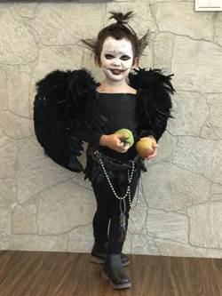童星萌萌巧扮死神路克參加學校活動 同學驚嚇不敢靠近