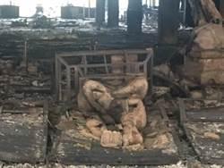 5億佛寺一夜燒光 900萬翡翠佛像也遭殃