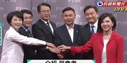 民進黨台南市長初選辯論會 6選將攻防少了煙硝味