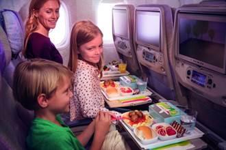 阿聯酋航空揭曉讓孩童在長程飛行中隨時保持開心的秘密