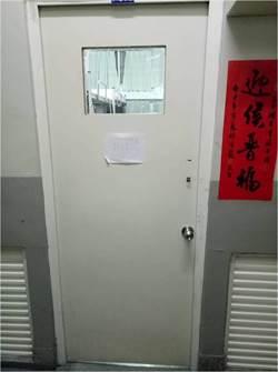 中二中女生宿舍透明門挨批「監控」 校方這樣說