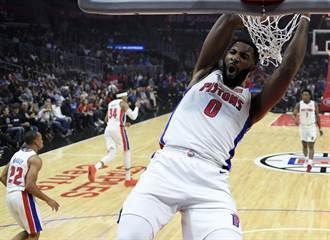 NBA》德拉蒙雙20 率領活塞斬綠衫軍