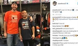 MLB》太空人好基情 艾爾圖維、韋藍德穿情侶告白T