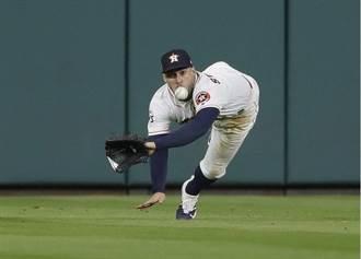 MLB》飛撲不成險淪為罪人 史普林格首球開轟漂白