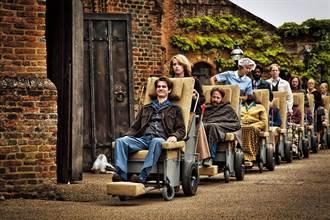 坐輪椅征服影迷 安德魯演戲全靠臉
