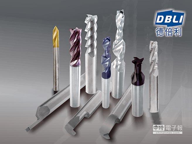 德倍利DBLI刀具主要供應的客群包括:精密機械之CNC車床與銑床加工、汽機車製 造加工、航太、工作母機及機械加工業為主。圖/王妙琴