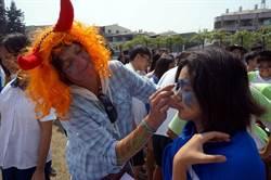 瀛海中學「鬼」點子過萬聖節 體驗國際交流