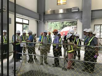 美國墾務局參訪曾文水庫防淤隧道 肯定創新工法