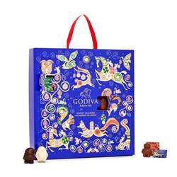 GODIVA全新巧克力禮盒 為聖誕倒數!