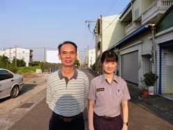 麻豆警分局父女檔 陳姵瑜繼承父親衣缽