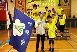 嘉北國小代表台灣赴香港賽躲避球 涂醒哲授旗