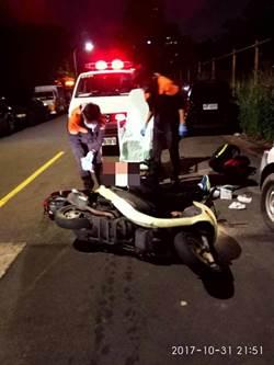 糗!管風紀的督察警員 酒駕自撞被逮