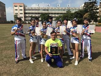 龍德家商啦啦隊 亞洲國際賽奪冠