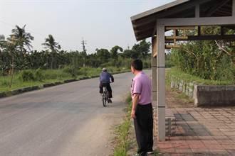 竹田鄉長希望設立地式路燈守護生態