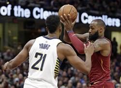 NBA》詹姆斯33分還不夠用 騎士4連敗