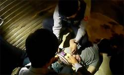 竹竿男褲襠「腫腫」見警就跑搜出毒品