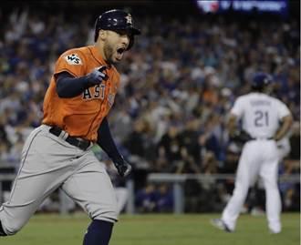 MLB》世界大賽5轟平紀錄 春天哥史普林格榮膺MVP