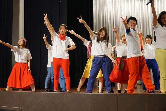 「Asian Beat跳躍亞洲」到大葉大學表演。(大葉大學提供)