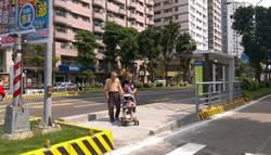 分隔島候車環境改善 高市搭公車有愛無礙