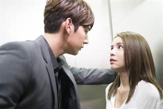 李毓芬和男偶像電梯之吻吸睛