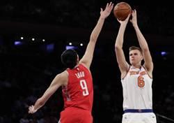 NBA》波神與大鬍子獲選上周最佳球員