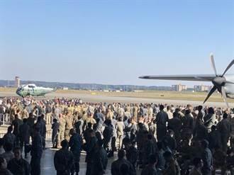 日本動員史上最大規模警力護衛川普一行