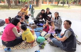 台南女中邀家長、學生野餐 凝聚家人的愛