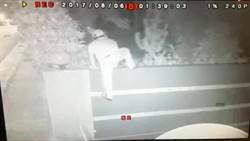 侵獨棟豪宅竊手機後出車禍  小偷斷腿就擒
