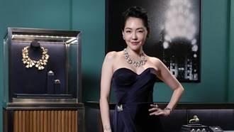 永遠跑在時尚第一線!小S化身奇幻女神展演Tiffany自然奇境珠寶