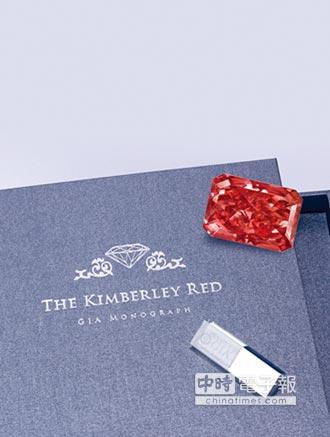 臺灣珠寶首飾展 稀世阿蓋爾紅鑽亮相