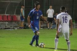 中華男足練習賽 2比4不敵卡達職業隊