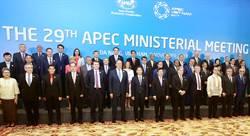 兩岸部長APEC零互動 陳美伶:位子太遠