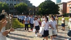 日本成蹊高校參訪南一中 台日交流互動熱烈