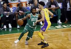 NBA》厄文戲耍球哥 塞爾提克昂首10連勝