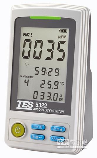 泰仕空氣品質監測器 健康空氣防護網