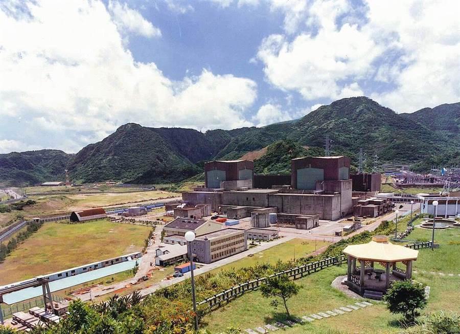 核二廠外觀圖。(圖:台電提供)